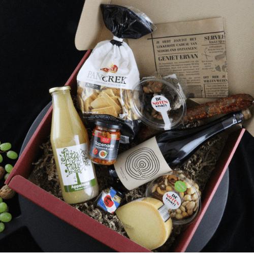 Delicatessen-cadeau-verpakking