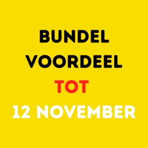 Bundelvoordeel tot 12 november!